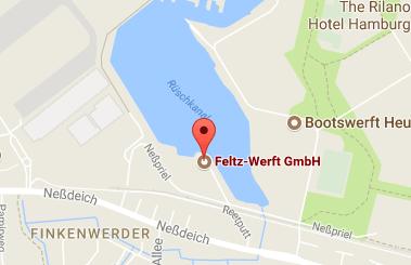 feltz-werft googlemaps